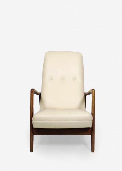 armchair model 829 by gio ponti manufaktur f r inneneinrichtung und interior und wohndesign berlin. Black Bedroom Furniture Sets. Home Design Ideas